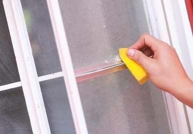 Как можно очистить скотч от пластикового окна: обзор эффективных средств в Чебоксарах